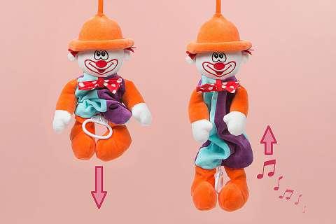 Clown boîte à musique
